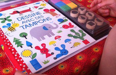 Chut les enfants lisent #116 - dessine avec les tampons