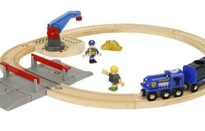 Ludothèque : Brio world : Police transport set