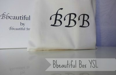 Bbeautiful Box avril Yves Saint Laurent