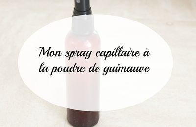 [DIY] Mon spray capillaire à la poudre de guimauve