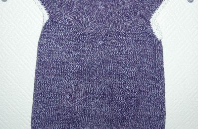 Rallonger un pull au crochet