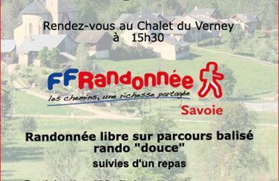 Rando Patrimoine du CDRP de Savoie le 2 sept 2017 au Bourget en Hüille