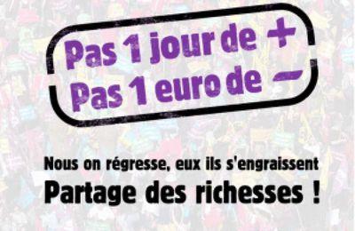 Mardi 10 grève et Assemblées Générales à Saint-Denis pour nos retraites