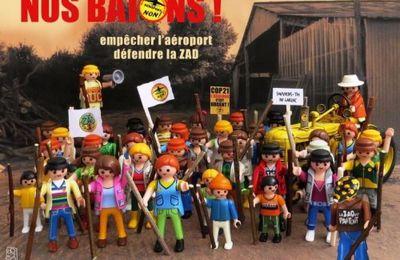 Le 8 octobre, soutien à la ZAD et à la lutte contre l'aéroport à Notre Dame des Landes