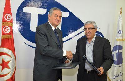 Important partenariat technologique signé entre la CNIRT et Tunisie Telecom