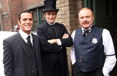 Making Murdoch Mysteries : ep 15 s7 The Spy Who Came Up To The Cold