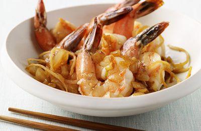 Crevettes au gingembre 4 Sp
