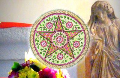 Mandala de l'étoile intérieure