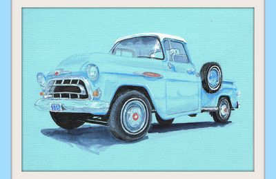 "PICK UP CHEVROLET 3100   ""APACHE"" de 1957."