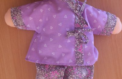 Petites tenues kimono