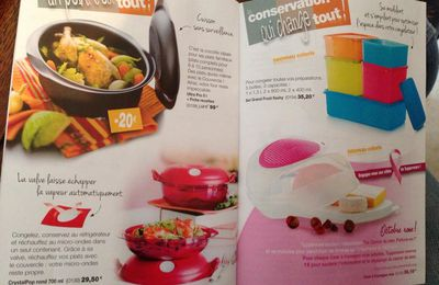 promotion cliente tupperware octobre 2014