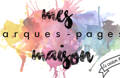 Mes marques-pages maison (n°2)