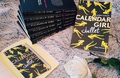 Calendar Girl, Juillet - Audrey Carlan
