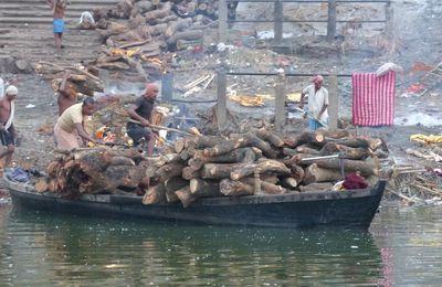 Varanasi : la ville sur le Gange !