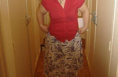 Une jupe maison : 1ère version