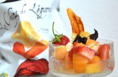 Salade de Fruits & Chips de Légumes Bret's