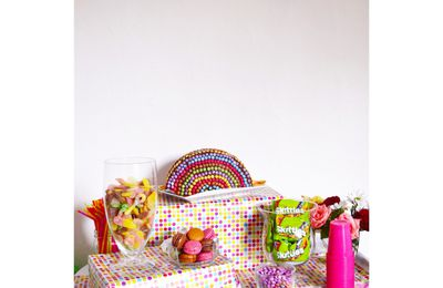 "Candy Table ""Vive les Couleurs"""