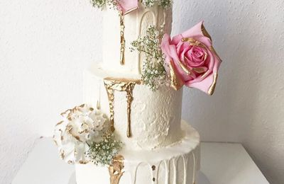 Wedding Cake Romantigue & Bohème