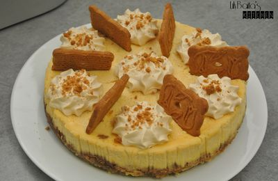 Cheesecake spéculoos