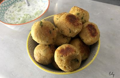 Falafels au curry