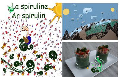 "Dédicace du livre ""La spiruline, ar spirulin"""
