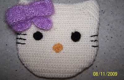 Crochet : sac Hello Kitty