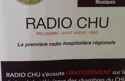 Interview à Radio CHU mardi 17 janvier 2017