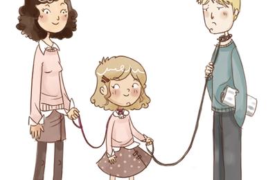 Famille recomposée et modes de garde