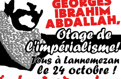Manifestation nationale pour Georges Abdallah !