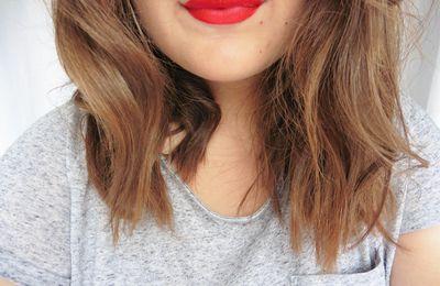 Rouge à lèvres sans transfert
