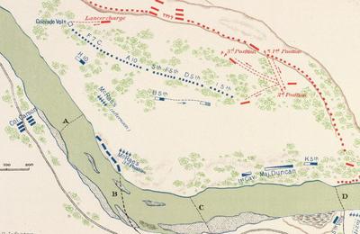 La bataille de Valverde 20 - 21 février 1862