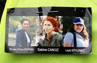 Toulouse rend hommage à Sakine, Leyla et Fidan