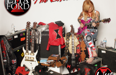 "CD review LITA FORD ""The bitch is back - Live"""
