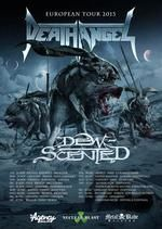 DEATH ANGEL tour dates for Europe