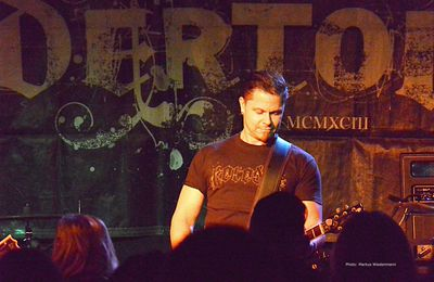 Live review END OF GREEN/UNDERTOW in Underground Koeln 09.11.13