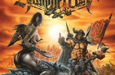 "CD review HAMMERCULT ""Steelcrusher"""