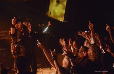 Live review HELSTAR, Baroeg, Rotterdam, 08.05.2014