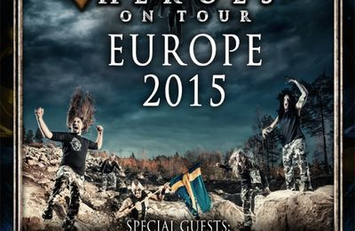 DELAIN and BATTLE BEAST support SABATON on European tour 2015