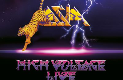 "CD review ASIA ""High voltage - Live"""