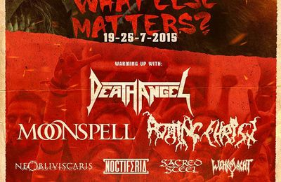 First bands for the Metal Days in 2015 are confirmed