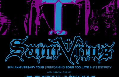 Trouble on the SAINT VITUS tour - Wino back in the US
