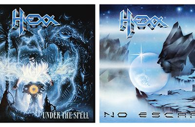 "Re-releases from HEXX ""No escape"" and ""Under the spell"""