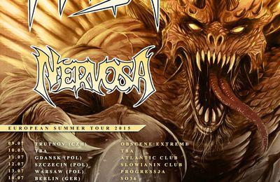 NERVOSA on tour with HIRAX