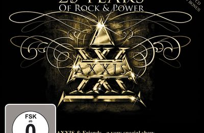 "CD review AXXIS ""25 Years Of Rock & Power"""