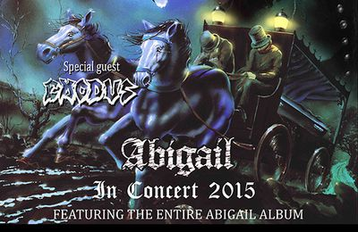 """KING DIAMOND to film feature length video on the """"Abigail In Concert 2015"""" tour"""
