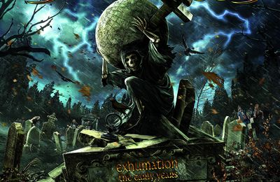 "CD review GRAVE DIGGER ""Exhumation - The Early Days"""