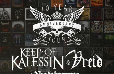 European 2015 tour dates KEEP OF KALESSIN, VREID and VREDEHAMMER