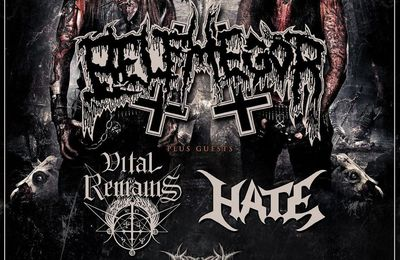 Tour dates BELPHEGOR, VITAL REMAINS, HATE