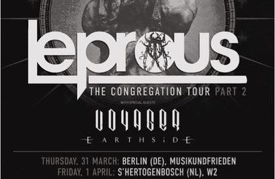 LEPROUS on tour 2016