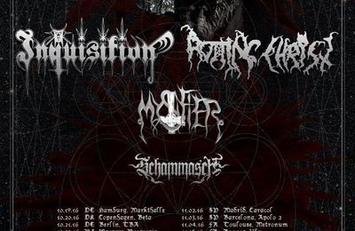 ROTTING CHRIST / INQUISITION tour dates Europe